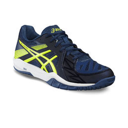 Asics Gel Fastball 2 Indoor shoe Vermilion Blue -Safty Yellow