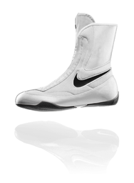 Nike Machomai Mid - Boxing Shoe (White/Black)