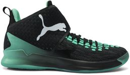 Puma Rise XT Fuse 1 Indoor Sports shoe, Black-Green-White