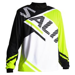 Salming Atilla (18) Goalie Jersey SR, yellow/black