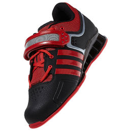 Adidas AdiPower - Weightlifting shoes BLACK-RED