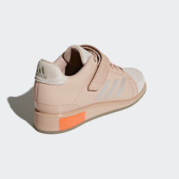 Adidas Power Perfect III - Weightlifting shoes Chalk Pearl