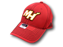 Adidas Miami Heat Structured Flex Fitmax NBA cap