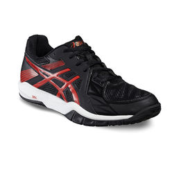 Asics Gel Fastball 2 Indoor shoe Black-Red