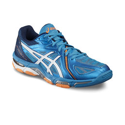 Asics Gel Volley Elite 3 Indoor Court Shoe Blue