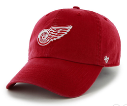 Detroit Red Wings Clean Up Cap Red