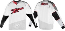 Zone Icon - Goalie Jersey (White)