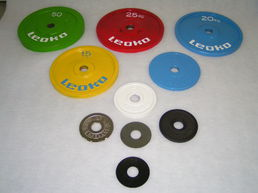 Leoko Competition Metal Discs (IPF Approved)