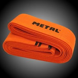 Metal Orange knee wraps 2m