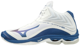 Mizuno Wave Lightning Z6 Mid (19) White-Blue  -indoor shoe