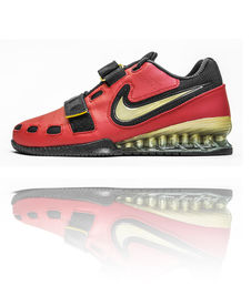 Nike Romaleos 2 Weightlifting Shoe Red-Gold-Black