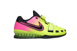 Nike Romaleos 2 Weightlifting Shoe Pink-Yellow Rio Olympic Special Model