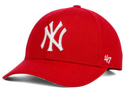 NY (New York Yankees) Cap Red
