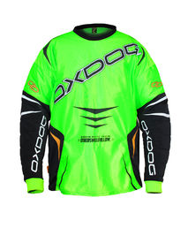 Oxdog Gate Goalie Shirt Lime-Black