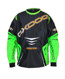 OXDOG Gate - Goalie Shirt (Black-Lime)