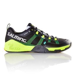 Salming Kobra Floorball Shoe Black-Yellow