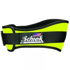 Schiek 2004 Neoprene Lifting belt Neon Yellow