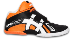 Unihoc U3 Goalie (Orange/Black) - Goalie Shoe