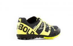 VJ Sport Bold 9 Black-Yellow Spike shoe
