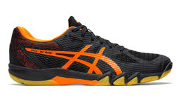 Asics Gel-Blade 7 (19) indoor shoe, black/shocking orange
