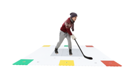 HockeyRevolution 360 Zone Stickhandling Surface