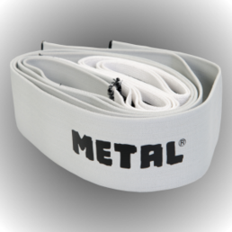 Metal Knee Wrap Mystical Silver (200 cm)