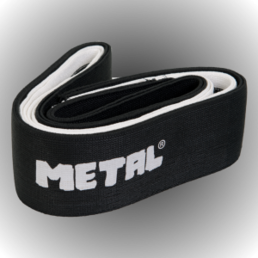 Metal Knee bandage Mystical Black (250 cm)