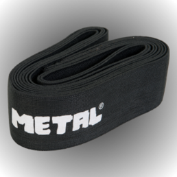 Metal Knee Wrap Black  (200 cm)