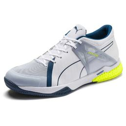 Puma Explode XT Hybrid 2  Indoor Teamsport Shoes, White-Grey