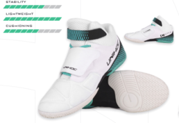 Copy of Unihoc U4 Goalie (White-Turquoise) - Goalie Shoe