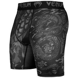 Venum Dragon's flight Compression Shorts Black/Black