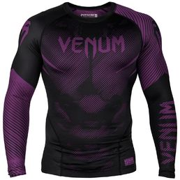 Venum NoGi 2.0 Rashguard, Black-Purple