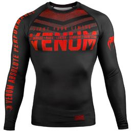 Venum Signature Rashguard - Long Sleeves