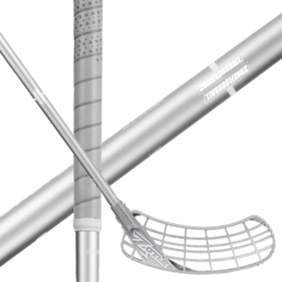 Zone Zuper AIR ShotCurve 1.0º 28 All Silver (20) Floorball stick