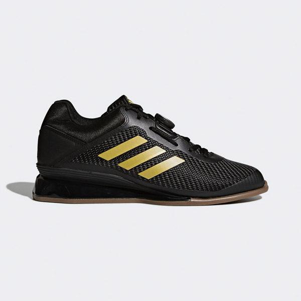 Adidas Leistung 1 6 Ii Black Gold Weightlifting Shoes Teamstore