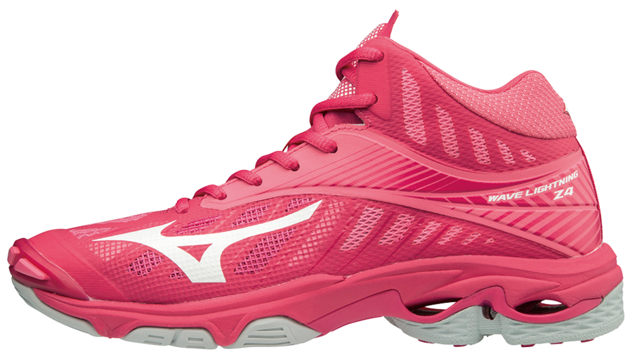 6d0ac79c47f3 Mizuno Wave Lightning Z4 MID Pink -indoor shoe | Teamstore Webshop